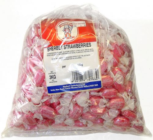 B27 SHERBET STRAWBERRIES 3KG